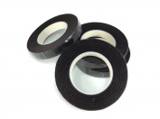 Floral Tape Brown 4 Rolls 30 Yards Foral Dark Glue Cohesive 12 mm Pair Artificial Flower Stem Tool
