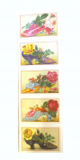 10 Brier Rose Victorian Shoe Stickers