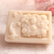 Grainrain Rectangle Mould Silicone Handmade DIY Moulds Soap Craft Art mould Zodiac Capricorn