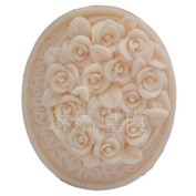 Grainrain Baby White Flexible Soap Mould Silicone Mould DIY Craft Handmade Resin Clay Candle Moulds Silicon Wax Mould