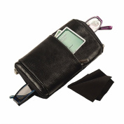 Women's Dual Eyeglass Leather Carrying Case