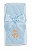 Bearington Blue Huggie Bear Burp Cloth