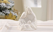 PORCELAIN HOLY FAMILY FIGURINE