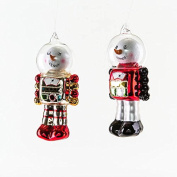 One Hundred 80 Degrees Snowman Robots