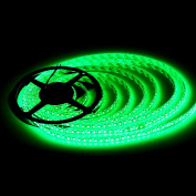 BZONE DC 12V Green Colour Waterproof Flexible LED Strip Light 5m SMD3528 600 LEDs