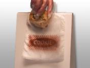 5-1/2 x 13cm - 1.3cm + 2.5cm - 1.3cm LIP Printed Plastic Cookie Bag (2,000 Bags) - Elkay Plastics DP5555PCK