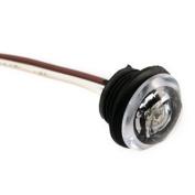 """Innovative Lighting 2.5cm """" Round LED """"""""Shortie"""""""" Livewell/Bulkhead Light w/219 Grommet - White"""