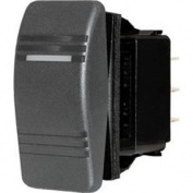 Blue Sea 8286 Water Resistant Contura Switch - Black
