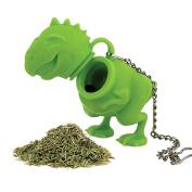 MAXGOODS Fine Green Silicone Dinosaur Tea Infuser Strainer Filter