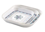 Set of 3 Elegant Portable Trays Lovely Coffee and Dinner Trays