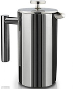 SterlingPro Double Wall Stainless Steel French Coffee Press, 1 Litre, SSFCP-1-1L