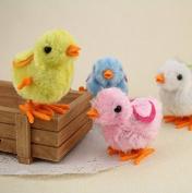 Teanfa Lovely Kids Toddler Wind-up Chicken Walking Toys Clockwork Developmental Toys 2pcs