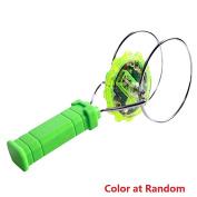 Magnetic Flashing Spinning Top Toy Gyro Wheel Toys Magic LED Gyro Lighting - colour at random
