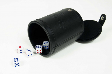 Guinness Classic Embossed Dice Cup Set