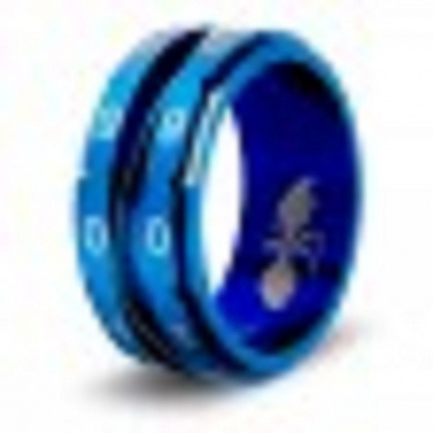 CritSuccess Life Counter Ring - Blue Size 11