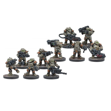 Forge Father Steel Warriors (10 models) unpainted