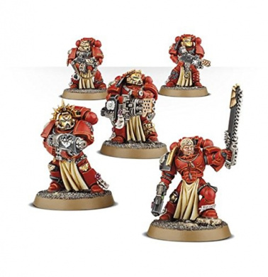 Warhammer 40k Blood Angels Sternguard Veteran Squad