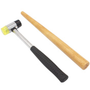 NIUPIKA Jewellers Rubber Hammer Mallet with Wood Ring Mandrel Sizer Sizing Adjuster Repair Tools Jewellery Making Kit
