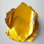 Foil Origami Paper- Gold 8.9cm Square 100 Sheets