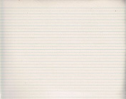 """Alternate Dotted 1.3cm """" Ruled Newsprint Paper, 11 x 8-1/2, White, 500 Sheets/Pack, Sold as 500 Sheet"""
