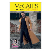 McCall's Patterns M7374 Collared & Seamed Coats, MWW
