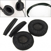 BephaMart Replacement Ear Pads With Headband Cushions For Sennheiser Headphone