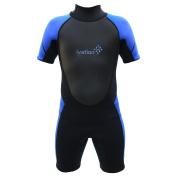 Ivation Kids Wetsuit - 3mm Thickness Premium Neoprene Short Youth Swim Wet Suit – Back Zipper Assist & Full UV Sun Protection