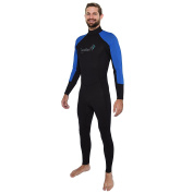 Ivation Men's 2.5mm Premium Neoprene Full Body Wetsuit – Excellent for Multisport Use In and Out of Water