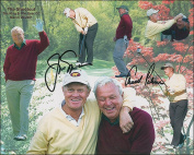 Jack Nicklaus And Arnold Palmer Photo Collage 8 X 10 Photo
