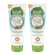 Seventh Generation Baby Lotion with Moisturising Coconut Care, 220ml , 2 Count