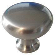 Atlas Homewares A819-BN 3.2cm Euro-Tech Collection Round Knob, Brushed Nickel