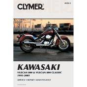 Clymer Kawasaki Vulcan 800 & Vulcan 800 Classic