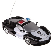 Unabi(TM) 1/24 Drift Speed Radio Remote Control RC RTR Police Racing Car Toy Xmas Gift RC Toys Kid's Toys Gifts