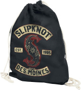 Slipknot Patched Up Gym Bag black