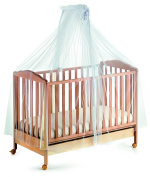 Italbaby 820.0000 - 05 giroletto in tulle veil with Rod white