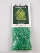 Moldavite Bath Salts, 120ml, contains the real essence of Moldavite,