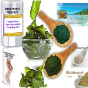 • SIMPLY INCH-LOSS SEAWEED BODY DETOX WRAPS • BODY CLAY WRAPS • CHOCOLATE WRAPS • ALL NEW COMPLETE KIT, • Shaping slimming weight loss. • 100% Natural Volcanic ash bentonite cosmetic body clay Firms thigh, hips, buttocks and stomach. It works for inch- ..