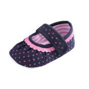 Kingko® Princess Baby Shoes Summer Shoes Girl Soft Sole Crib Shoes Toddler Casual Canvas Shoes