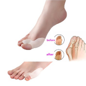 SMFHealth Toe Separators, Bunion Relief Foot Cushions Kit 2 Pairs of Bunion Pads and Metatarsal Pads