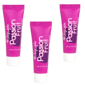 3 x ID Juicy lube Flavoured Passion Fruit 12ML