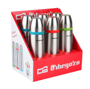 Orbegozo Set TRL 5500 - Set of 6 Liquid Flask, Stainless Steel, 3 Colours, 500 ml