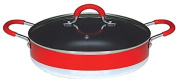Callaway Low Casserole with Lid 28 cm red