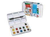 VAN GOGH WATERCOLOUR SET POCKET BOX - 12X1/2 PANS PAINT SET