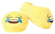 Love Bomb Cushions 0057M Laughing to Tears Emoji Cushion Slippers