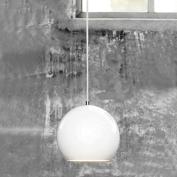 Creative Chandelier Aluminium Round Modern Simple Restaurant Bar Lamp Bedroom Bedroom Lamp , white