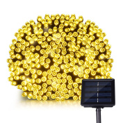 Litom Solar Fairy Lights Solar Lights Garden, Outdoor Solar Lights, 200 LED 8 Modes, 72ft 22m