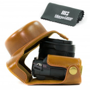 "MegaGear ""Ever Ready"" Protective Leather Camera Case, Bag for Panasonic LUMIX LX100, DMC-LX100 Camera"