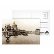 Views of Venice Grand Canal Doge's Palace.. - Postcard (Pack of 8) - 15cm x 10cm - Art247 Highest Quality - Standard Size - Pack Of 8