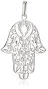 Engelsrufer Women's Pendant 925 Sterling Silver Fatima's HAND Design Rhodium Erp-Hand
