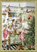Nostalgic Advent Kitchen A4 Traditional German Advent Calendar Coppenrath